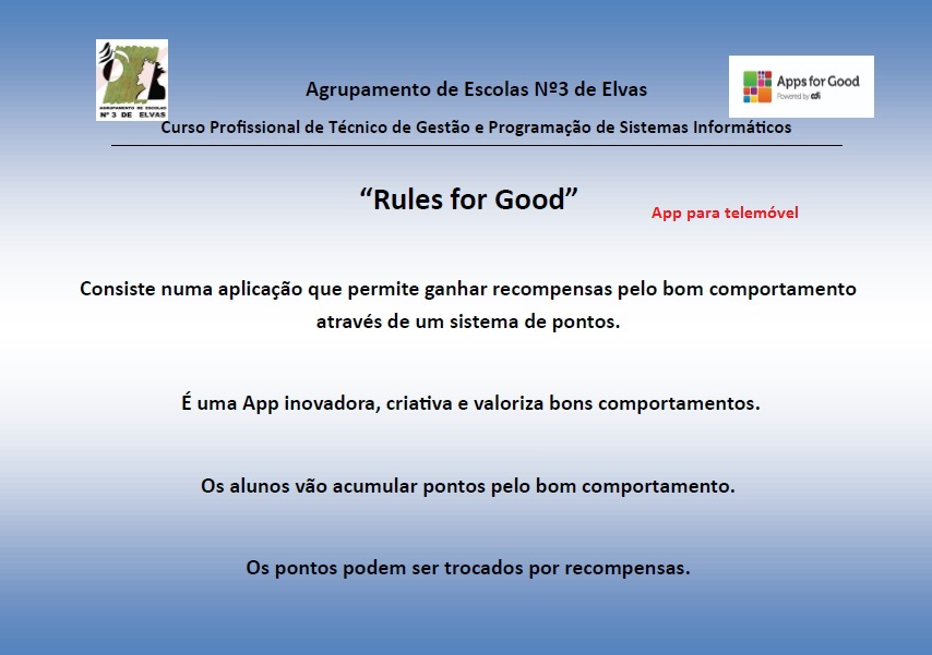Apps for good - App Móvel
